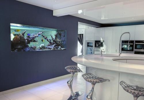 In Wall Reef Aquarium in London