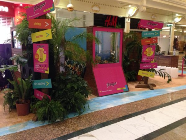 Event Fish tank rental