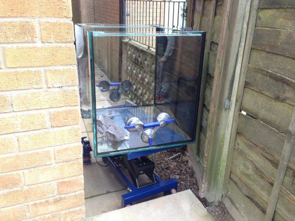 Bespoke aquarium