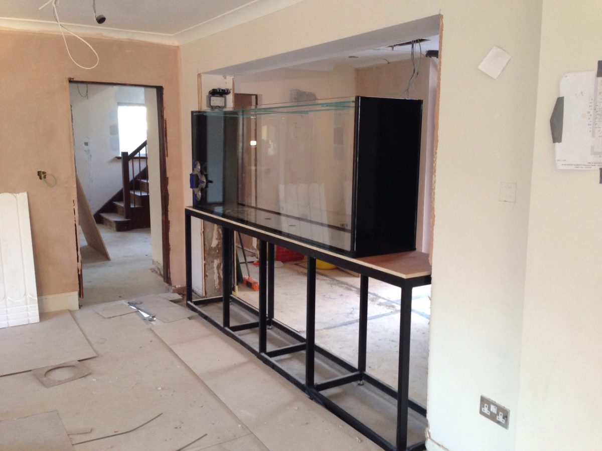 New Fish Tank Installation – Warrington